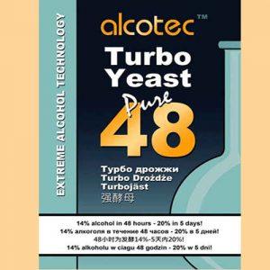 Спиртовые дрожжи Alcotec 48 turbo