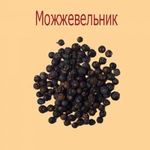 Сушеные ягоды можжевельника